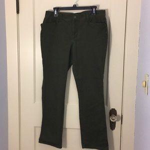 Ralph Lauren Size 12 Olive Jeans